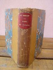 Edouard GRESSIN : ROSES & CYPRES chansons & poesies portrait par Carrière 1894