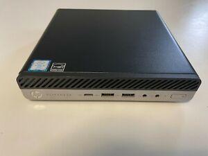 HP EliteDesk 800 G3 DM 35W Mini Core i5-7500T 2.70GHz 8GB No HDD/ OS/ AC Adapter