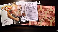 SIGNED The Art of Big Trouble in Little China by John Carpenter autographed, new