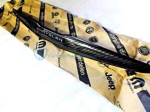 Chrysler 300 SRT8 15-19 Black Carbon Fiber Wing Emblem Front Grille Badge Mopar