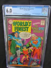 WORLD'S FINEST #173 - BATMAN & 1ST SILVER AGE APP. OF TWO-FACE - 1968 - CGC 6.0