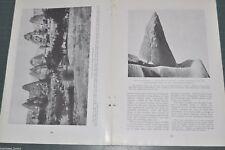 1919 CAPPADOCIAN TROGLODYTES magazine article, Asia Minor ancient Turkey