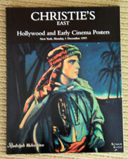 Christie'S East Hollywood Early Cinema Posters 1997 Auction Catalogue Valentino