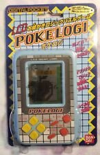 POKELOGI Bandai LCD drawing logic puzzle game Retro Japan unused