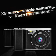 "X9 4.0"" LCD 12x Optical Zoom 1080P HD 24MP Digital SLR Camera Camcorder Portable"