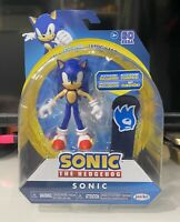 Jakks Pacific Sonic the Hedgehog SONIC Articulated 4 Action Figure NEW