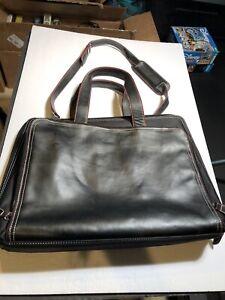 "hp laptop carrying case/ Office Bag Black 13""x 16"" 2 Lg Zip Pockets, 1 Side Pkts"