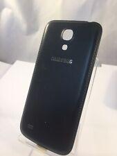 Original Samsung Galaxy S4 Mini Negro De Cuero Cubierta Trasera Batería De Repuesto