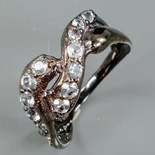 Fine Art Natural Blue Topaz 925 Sterling Silver Ring Size 6.5/R91856
