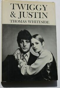 Twiggy & Justin in New York 1966 60s vintage celebrity fashion book