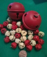 Bells Large Lot Red & White