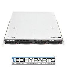 Supermicro SC813MTQ-350CB 1U Server Chassis (No Motherboard/CPU/RAM/HDD)