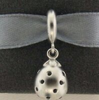 New Endless Black Star Drop Rhodium Plated Sterling Silver Charm 43800-3