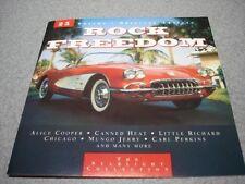 Rock FREEDOM Alice Cooper, Canned Heat, Little Richard, Chicago... [CD ALBUM]