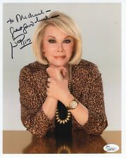 JOAN RIVERS HAND SIGNED 8x10 COLOR PHOTO    GREAT COMEDIAN    TO MICHAEL     JSA