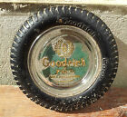 Ancien vide poche publicitaire pneus Goodrich, déco garage, french antique