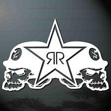 """*9.0""""X1PC. ROCKSTAR METAL MULISHA #1 STICKER DIE-CUT DECAL VINYL RACING SPORT"""