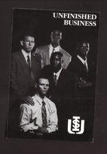 Idaho State Bengals--1994-95 Basketball Pocket Schedule--United Dairymen
