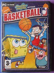 SPONGEBOB SQUAREPANTS BASKETBALL NICKELODEON PC CD-ROM GAME brand new & sealed