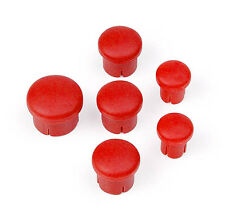 HUDY 195020 Plastic Cap for Handle (Set-3+2+1) Red
