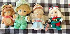 Precious Moments Hi Babies Lot Christmas Dad Reindeer Elf Birthday
