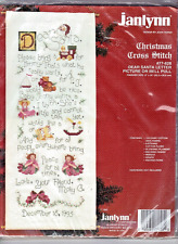 SALE!! Dear Santa Letter Janlynn LARGE Christmas Counted Cross Stitch Kit