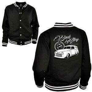 Vintage classic garage car College Oldtimer Auto szene customizing Jacke *1047