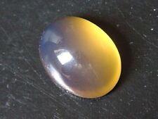 Blauer Bernstein / blue Amber 9,62 Ct. 20 mm Cabochon (289x)