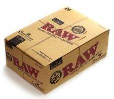 1 box - RAW Classic Connoisseur King Size Slim paper + Prerolled tips