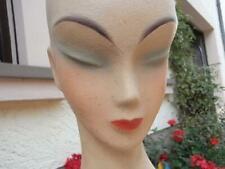 Art Deco Frauenbüste um 1930 Büste Friseur Perücken Hut - Kopf Schaufensterfigur