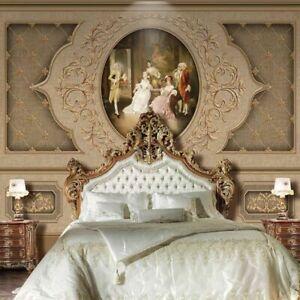 Neu Europäische Retro Kunst Luxus Foto Tapete Wandsticker für Wände 3D Decke