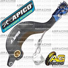 Apico Black Blue Rear Brake Pedal Lever For Yamaha YZ 450F 2007 Motocross Enduro