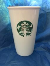 Starbucks Ceramic Tumbler with Lid 10FL OZ To Go Coffee Cup Travel Mug