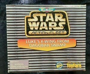 Star Wars Action Fleet Luke's X-wing From Dagobah Swamp Toyfare Exclusive Micro