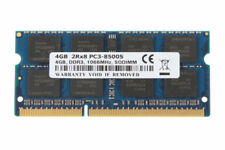 4GB 2RX8 PC3-8500S DDR3 1066Mhz SODIMM CL7 204PIN 1.5V RAM Laptop Memory Non-Ecc