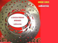 2 DISCHI FRENO ANTERIORI BREMBO 68B407A5 HONDA XL V TRANSALP 600 1997 1998 1999