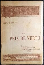 Jean-Philippe Rameau, Un prix de vertu, Ed. Henri Gautier, 1891
