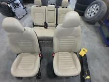15-16 FORD EDGE FRONT REAR SEAT TAN LEATHER POWER HEAT OEM