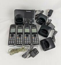 Panasonic KX-TG7621 Cordless DECT6.0 PLUS Bluetooth Link 4 Handset Phone System