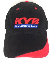 KYB Hat Shocks Struts Cap Logo Employee Apparel Baseball Strapback Trucker Black
