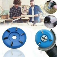 6Teeth Power Wood Carving Cutter Disc Milling Attachment For Angle Grinder Tool.