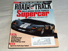 Road & Track June 2011 Car Truck Magazine Ford Blue Oval Future Supercar GT