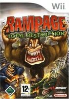 Nintendo Wii Spiel - Rampage: Total Destruction mit OVP
