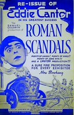 ROMAN SCANDALS 1933 Eddie Cantor, Gloria Stuart, Ruth Etting TRADE ADVERT