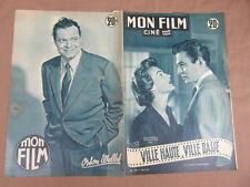 REVUE CINEMA MON FILM / VILLE HAUTE VILLE BASSE AVA GARDNER JAMES MASON