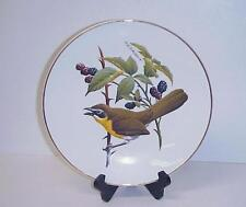 Avon Yellow Breasted Chat Dinner Plate Special Edition