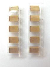 10uf 25v Tantalum SMD TAJD106K025R 10%. marked 106E size 7.5mmx4mm Pack of 10pcs