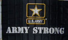 Army Strong 3x5 ft New Star U.S. military banner BETTER QUALITY USA SELLER