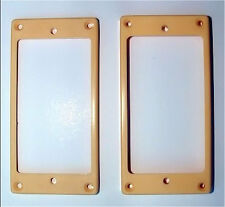 Guitar Parts Humbucker Pickup MOUNTING RINGS Trim Bezels - Set of 2 CREAM IVORY
