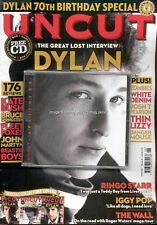 Uncut June 2011 Bob Dylan Ringo Starr The Wall Roger Waters Iggy Pop Cover #1